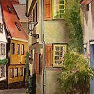Beautiful Germany  Esslingen by Marie Luise  Strohmenger
