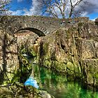 Birks Bridge,River Duddon by Jamie  Green