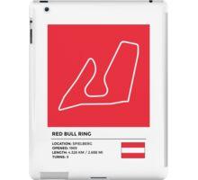 Red Bull Ring - v2 iPad Case/Skin