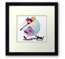 1950s Kiki Framed Print