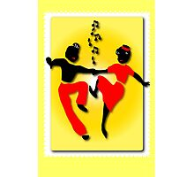 Rock, Bop Jump & Jive Photographic Print
