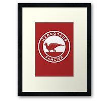 Hadrosaur Fancier Framed Print