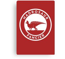 Hadrosaur Fancier Canvas Print