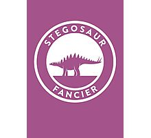 Stegosaur Fancier Print Photographic Print