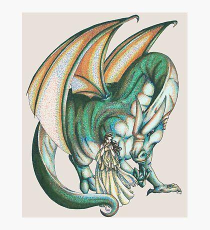 Dragon's Song Photographic Print