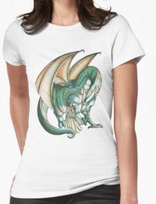 Dragon's Song Womens Fitted T-Shirt