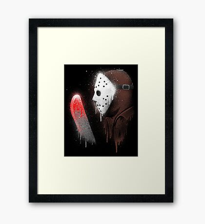 Your Friends Are Dead Framed Print
