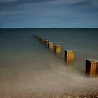 Findhorn Beach by John Ellis
