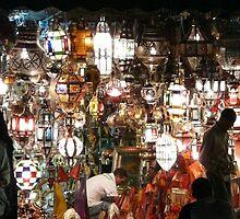 Moroccan Lanterns by James Probert