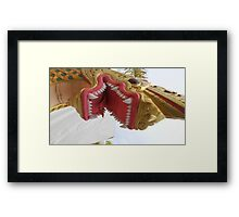 Na Ga,Serpent Framed Print