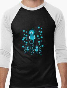 Sea Horses Men's Baseball ¾ T-Shirt