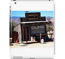 GUNS, GUNSMITH PIONEER TOWN, CALIFORNIA iPad Case/Skin