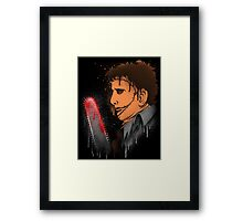 Leatherface Framed Print