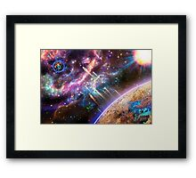 Time For Us To Leave! Framed Print