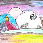 Crayon Moonlight by Chris Hammond