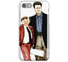 David Lynch project 3 iPhone Case/Skin