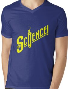 For Science geek funny nerd Mens V-Neck T-Shirt