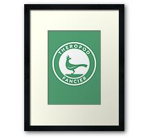 Theropod Fancier Print Framed Print