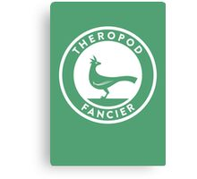 Theropod Fancier Print Canvas Print