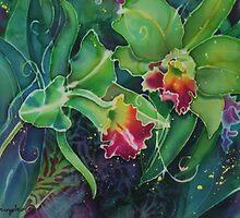 Orchid Series 12 by Deborah Younglao