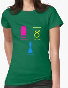 Sherlock Series 1--color Womens Fitted T-Shirt