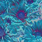 aqua blue beauties by Aimelle