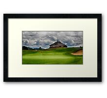 Club de golf Manitou ~ Mont Tremblant, Quebec Framed Print