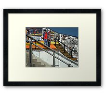 Colourful Screen Framed Print