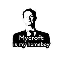 Mycroft is My Homeboy Photographic Print