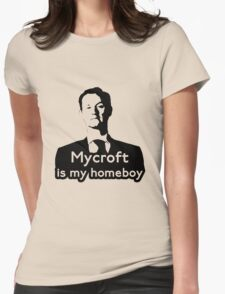 Mycroft is My Homeboy Womens Fitted T-Shirt