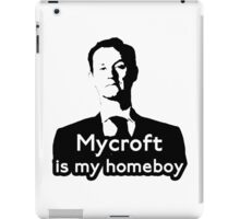 Mycroft is My Homeboy iPad Case/Skin