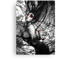 Queen of Webs Canvas Print