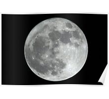 Amsterdam,Holland Supermoon 500mm Poster