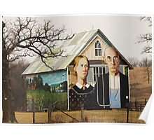 An American Gothic Poster