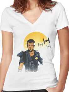StarMax Fury Force. Women's Fitted V-Neck T-Shirt