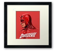 THE MAN WITHOUT FEAR Framed Print