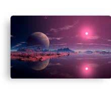 Alien Dawn Canvas Print