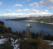 Emerald Bay & Fannette Island by Patty Boyte