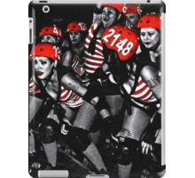 Roller Derby Girls iPad Case/Skin