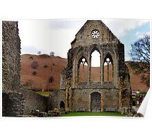 Valle Crucis, Llangollen Poster