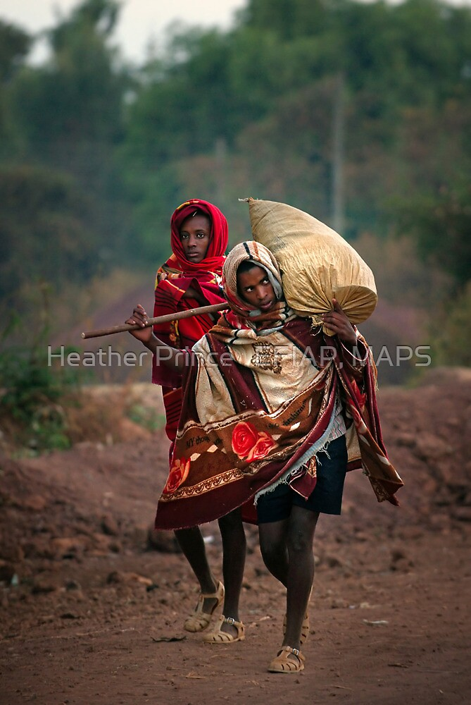 Off to Market in Bahir Dah by Heather Prince