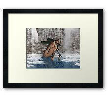 Preoccupied Framed Print