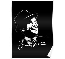 Frank Sinatra - Portrait and signature Poster