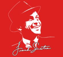 Frank Sinatra - Portrait and signature One Piece - Long Sleeve
