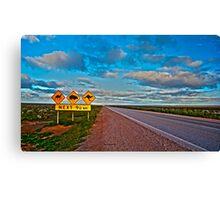 Nullarbor-HDR Canvas Print