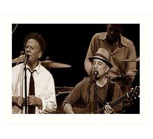 Simon & Garfunkel Live In  Concert Art Print