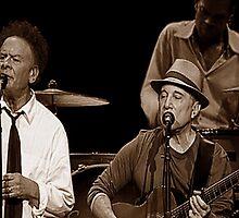 Simon & Garfunkel Live In  Concert by Richard Shakenovsky