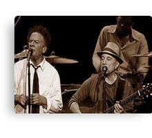 Simon & Garfunkel Live In  Concert Canvas Print