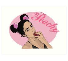 Peachy Chlo Art Print