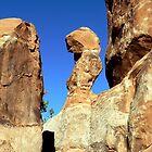 Nature's Rock Sculpture by Graeme  Hyde